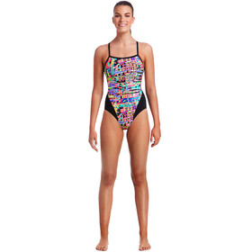 Funkita Single Strap One Piece Swimsuit Ladies Full Metal Funky